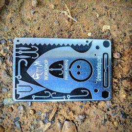 Grim Workshop Self Defense Spear Card