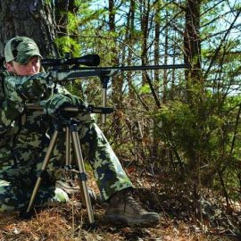 Caldwell DeadShot FieldPod: Adjustable Ambidextrous Rifle Shooting Rest