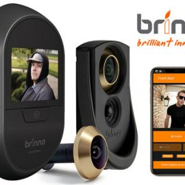 Brinno Duo Smart Peephole Security Camera