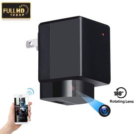 HoHoProv Hidden Camera Wall Charger with WiFi