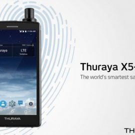 Thuraya X5-Touch Satellite Smartphone For Remote Areas