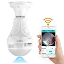 Miebul Light Bulb Surveillance Camera