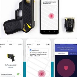 TASER Pulse+ Noonlight App Smart Stun Gun