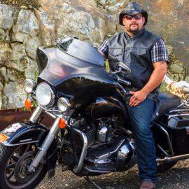 Bulletproof Leather Biker Vest