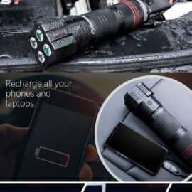CarAIDE: Car Jump Starter, Phone Charger, Emergency Multitool