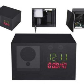 Hidden Clock Case for Wyze Cam
