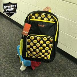 Streetwise Emoji Bulletproof Backpack