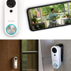 SimpliSafe Video Doorbell Pro with 1080p Camera, Motion Detection