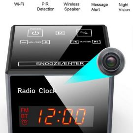 Hidden Camera Clock with Night Vision