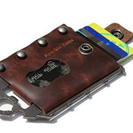 Sparkle Tmax Leather Tactical Multitool Wallet
