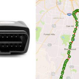 iTrail Snap OBD-ll 4G Car Tracker