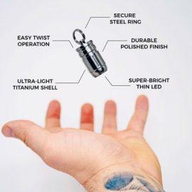 BULL3T Powerful Micro Flashlight