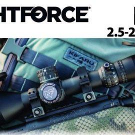 Nightforce NX8 2.5-20×50 F1 Scope
