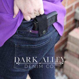 Dark Alley Ladies Concealed Carry Bootcut Jeans