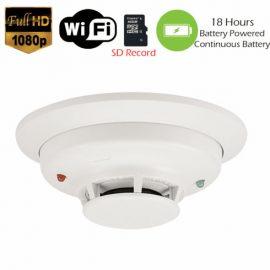 Smoke Detector Fire Alarm Spy Camera