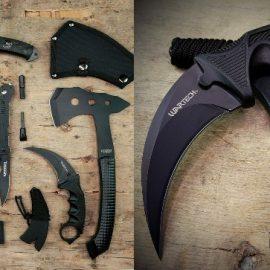 Blade Factory 7-Piece Tactical Set