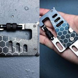 Mtech USA Tactical Wallet Multitool with Carabiner