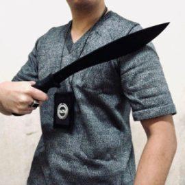 Black Stealth Cut Proof Shirt
