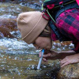 HydroBlu Sidekick 3-Stage Straw Water Filter