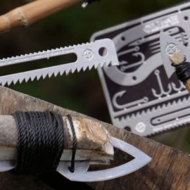 17 Tool Knife Card for Survival