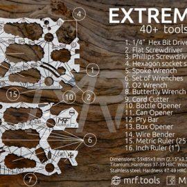 Extreme 3.0 Titanium Credit Card Multitool