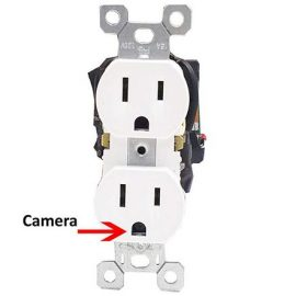 WiFiReceptacle Covert Camera with Livestreaming