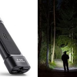 Panther Vision Flateye Cree LED Unround Flashlight