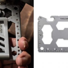 Lever Gear Toolcard with 40 Functions