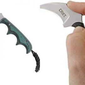 CRKT Keramin Fixed Blade Neck Knife