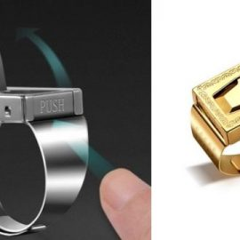 Multifunctional Self Defense Ring
