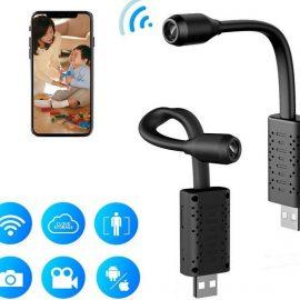 RETTRU Hidden Spy Camera with WiFi