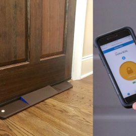Haven Connect Bluetooth Door Wedge Stops Break-ins