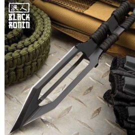 Black Ronin Tri-Edged Spear Head for Survival