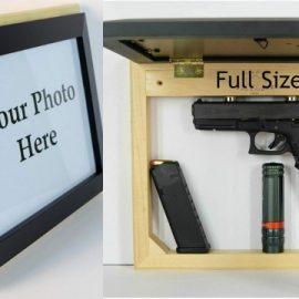 Yalotz Hidden Photo Frame Hidden Gun Case