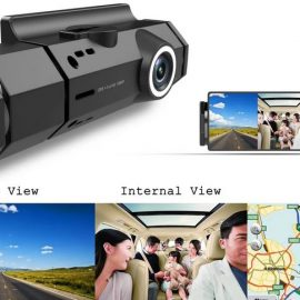 C5595 Dual Camera Dashcam with WiFi