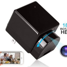 ZXWDDP Spy Camera Wall Charger with Rotating Head