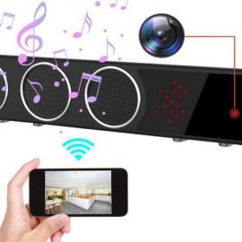 Bluetooth Speaker Hidden Camera with Motion Detection