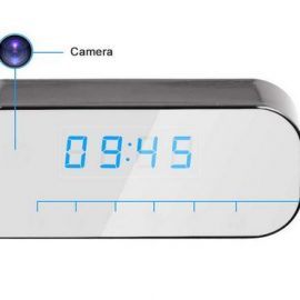 WiFi Spy Camera Clock with 1080p Resolution