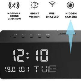 Cruci5 Spy Camera Clock