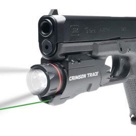 Crimson Trace CMR-207 Rail Master Pro with 500 Lumen Flashlight & Laser