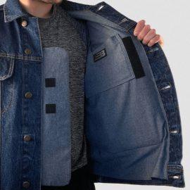 BulletBlocker NIJ IIIA Bulletproof Classic Denim Jacket