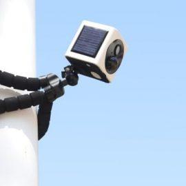 EyeCube Solar Powered Security Camera