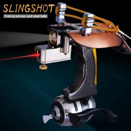 Fishing Slingshot with Laser for Outdoor Action