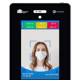 FaceGraph Touch Free Temperature Measuring Kiosk