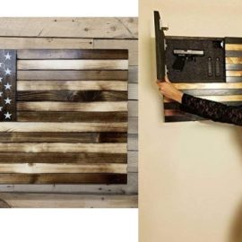 Concealment Flag with Magnetic Safety Lock