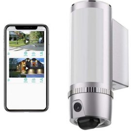 FREECAM Floodlight Camera with Motion Lighting