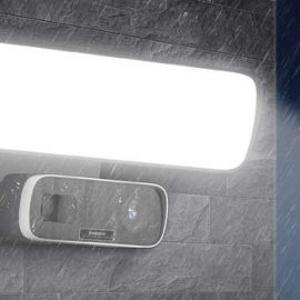 Anbes WiFi Floodlight Camera with Motion Detection