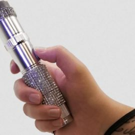 RhineStun Bling Stun Gun Flashlight