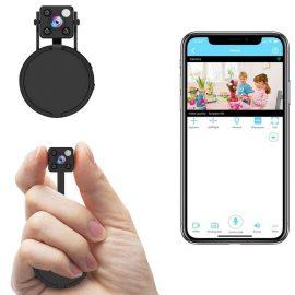 Relohas 1080P Mini Spy Camera with WiFi