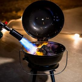 SearPro Blow Torch for Cooking, Camping